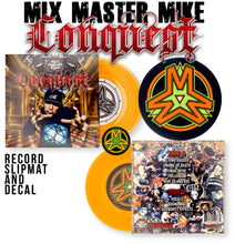 Load image into Gallery viewer, CONQUEST - MIX MASTER MIKE - 7IN (ORANGE VINYL)