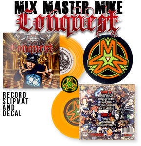 CONQUEST - MIX MASTER MIKE - 7IN (ORANGE VINYL)