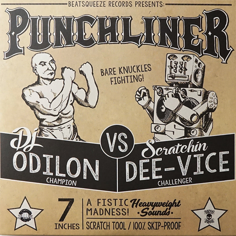 PUNCHLINER - DJ ODILON - 7IN (CLEAR VINYL)