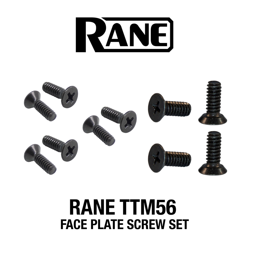 RANE FACE PLATE SCREWS