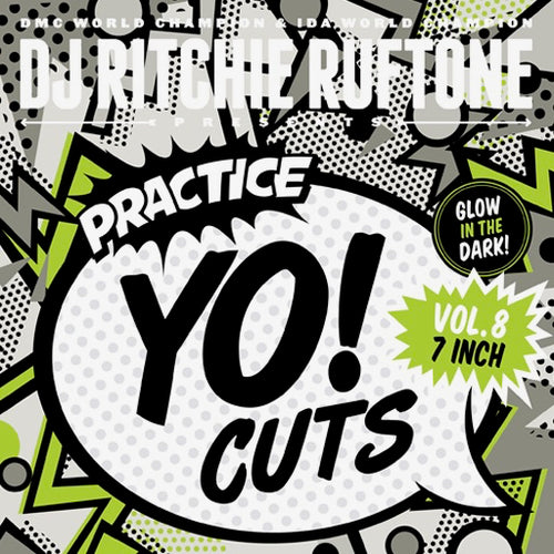 TTW0017 - PRACTICE YO! CUTS 7 INCH (GLOW IN DARK)