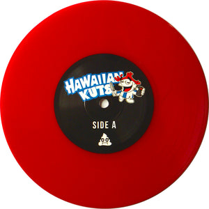 "Skratch Poop - Hawaiian Kuts 7"" Red Vinyl"