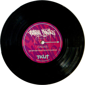 DJ T-Kut Scratch Practice Vol. 2 7IN VINYL