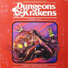 "Load image into Gallery viewer, DUNGEONS & KRAKENS - DJ BECAUSE AND DJ EFECHTO - 7"" (CHAOS COLOR)"