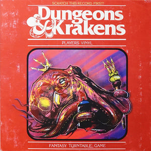 "DUNGEONS & KRAKENS - DJ BECAUSE AND DJ EFECHTO - 7"" (CHAOS COLOR)"
