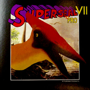 "SUPERSEAL VII PRO PART #7 OF 7 PTURNTABLE PTERODACTYL 7"" GLOWING NEON VINYL"