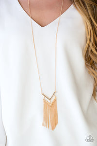 Alpha Glam - Gold - Long Necklace