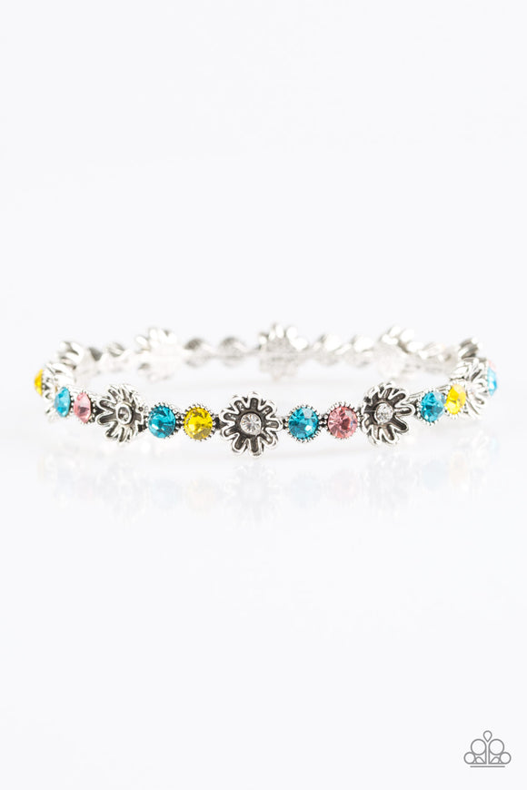 Daffodil Diva - Multicolor  - Bracelet Bangle