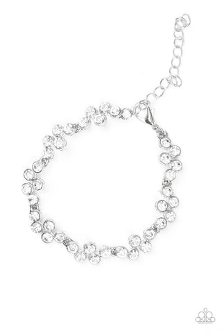 Still GLOWING Strong - White - Clasp Bracelet