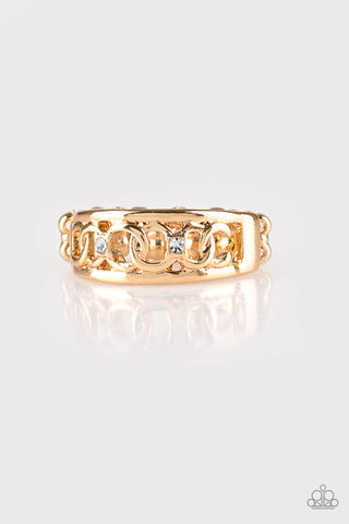 Street Cred - Gold - Stretch Ring
