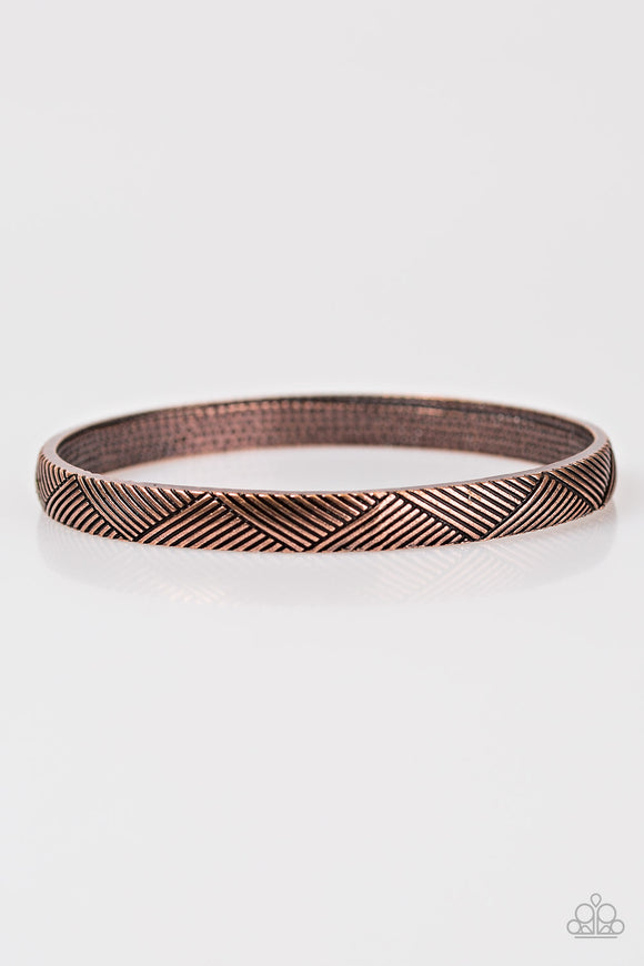 Amazon Attitude - Bangle - Copper