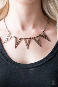Bite The Big One- Short Necklace - Black
