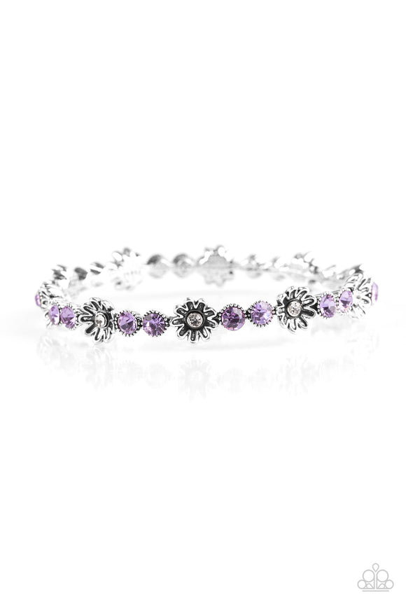 Daffodil Diva - Purple  - Bracelet Bangle