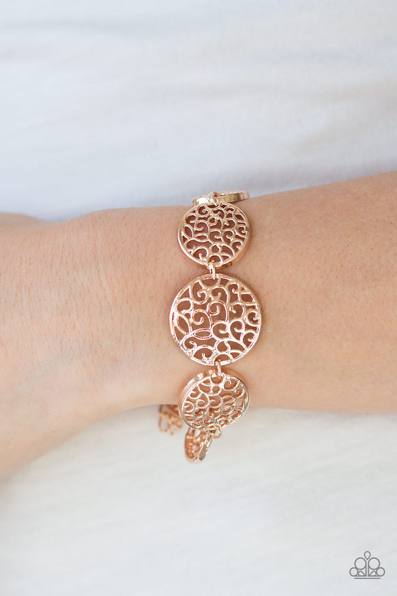 Dream WHIRL - Rose Gold - Clasp Bracelet
