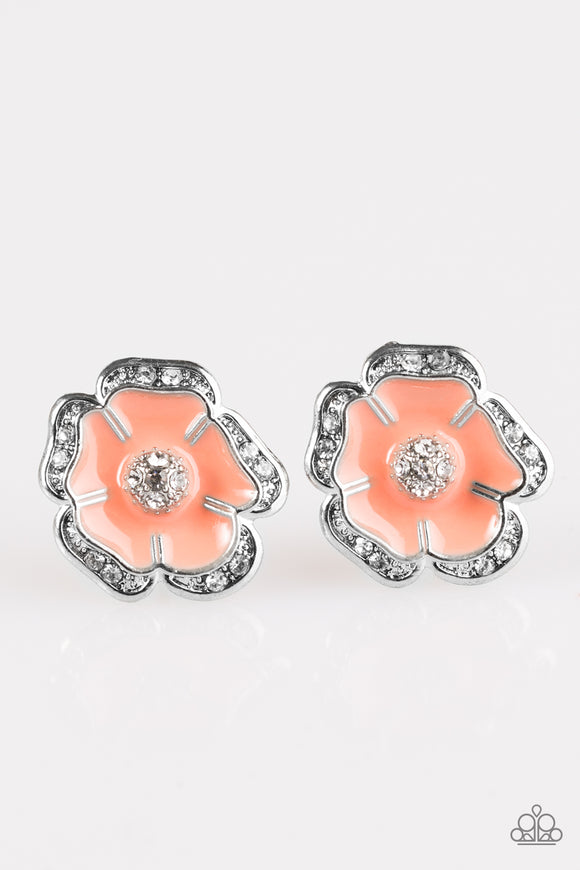 Hibiscus Springs -  Post Earrings