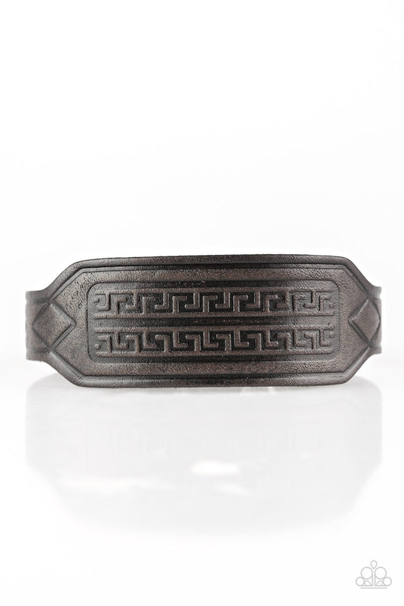 Hidden Ruins - Leather Bracelet - Men's Bracelet