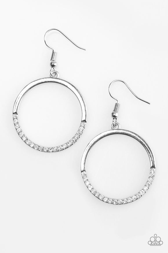 Sip Sip Hooray - Silver Earrings