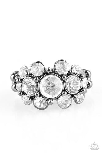 Billion Dollar Bombshell - Gunmetal - Stretch Ring