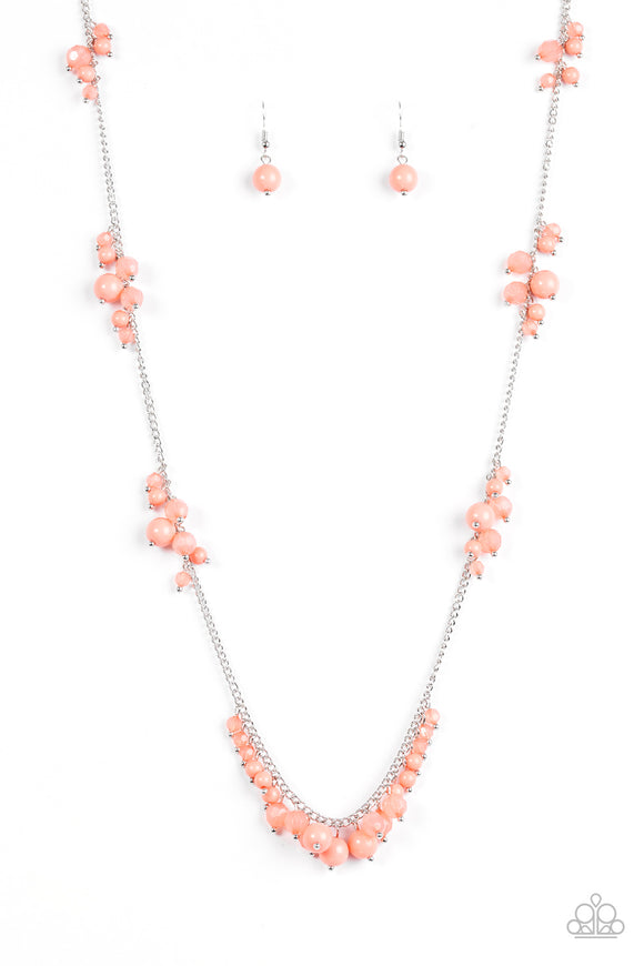 Coral Reefs - Orange - Long Necklace