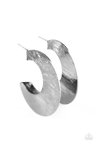 Mad About Shine - Black/Gunmetal - Hoops