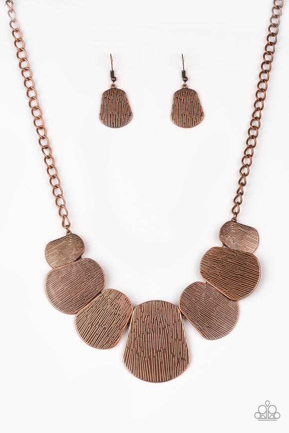 CAVE The Day - Copper - Short Necklace
