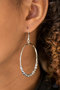 Double Edge - Silver Earrings