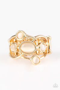 Moon Mood - Gold - Stretch Ring