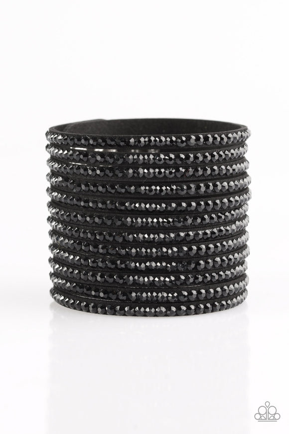The Boss Is Back - Black - Bracelet