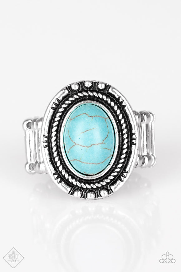 Sandstone Sanctuary - Turquoise Ring