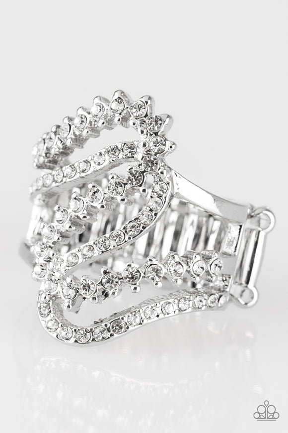 Make Waves - Silver - Stretch Ring