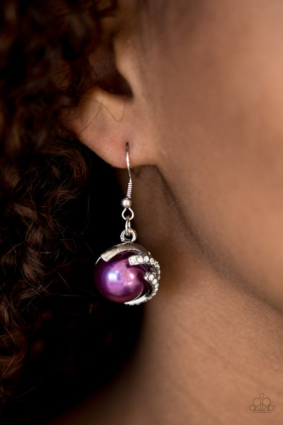What You SEA Is What You Get - Purple - Earrings