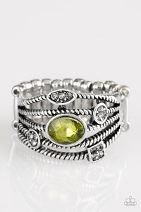 Cosmic Combo - Green - Stretch Ring