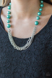 Runaway Bridesmaid - Teal - Short Necklace