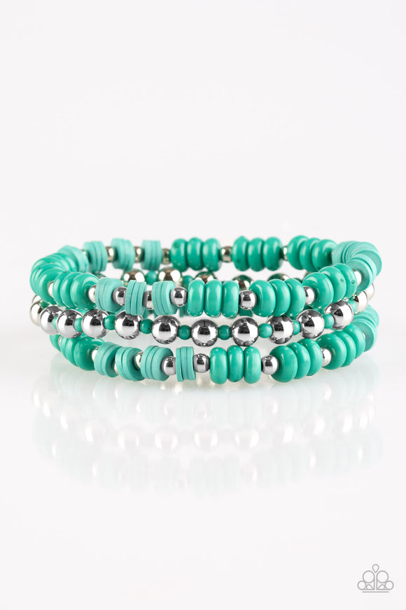 Tenaciously Tenacious- Teal - Stretch Bracelet
