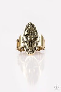 Tonga Tour - Brass - Stretch Ring