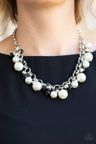 The Upstarter - Black - Short Necklace