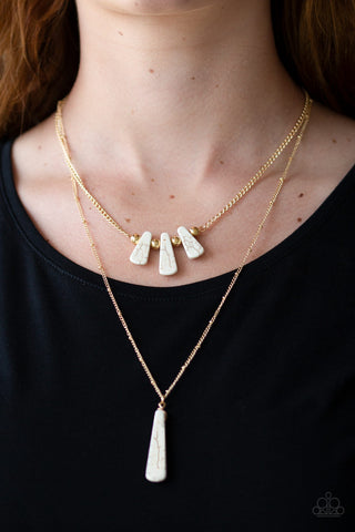 Basic Groundwork - White - Short Necklace