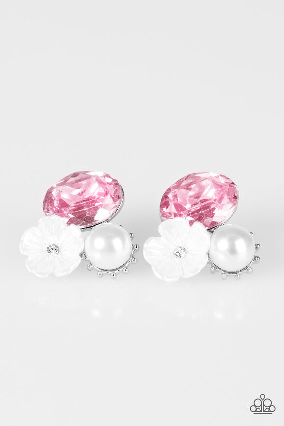 Lily Lagoon - Pink - Earrings
