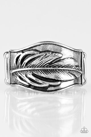 Fly Home - Silver - Stretch Ring