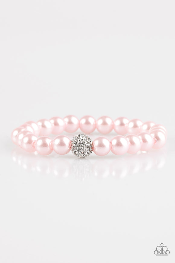 I'm Here For The Bride - Pink - Stretch Bracelet