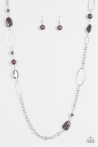 Popular Demand - Silver -  Long Necklace