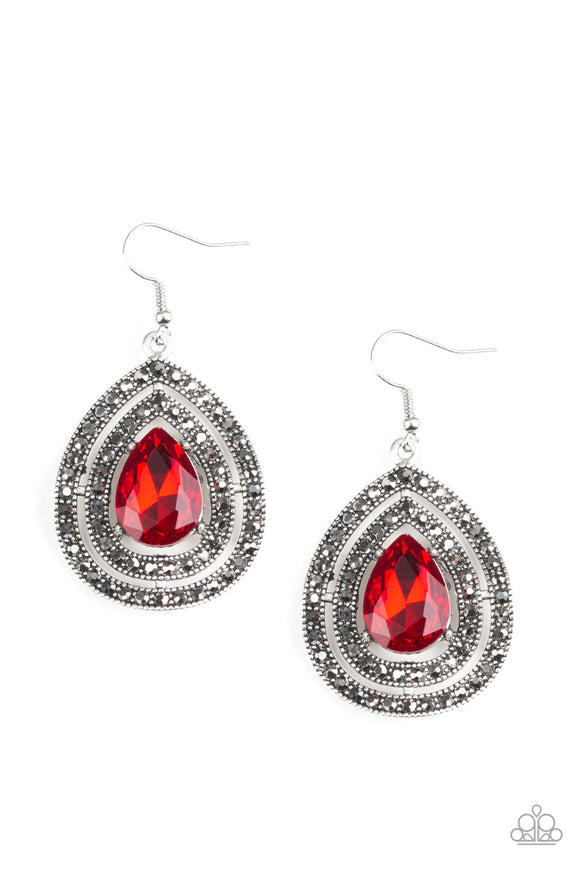 Royal Squad - Red - Earrings