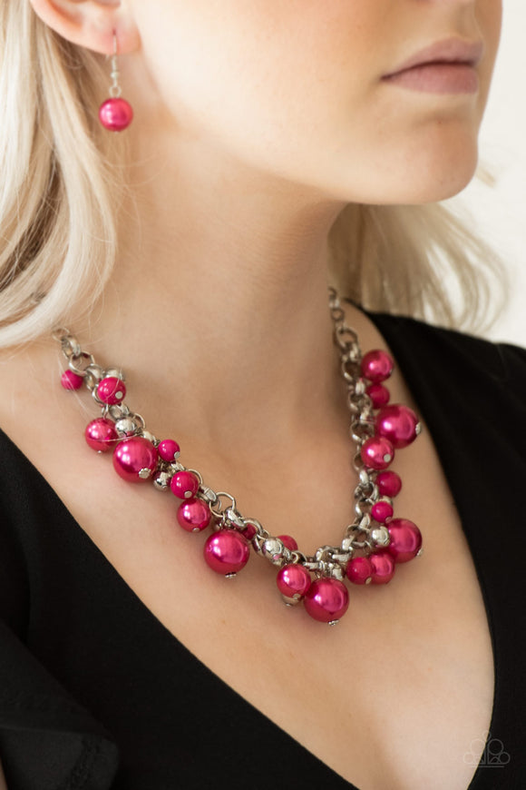 The Upstarter - Pink - Short Necklace