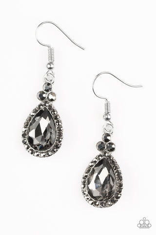 Self-Made Millionaire - Silver - Earrings