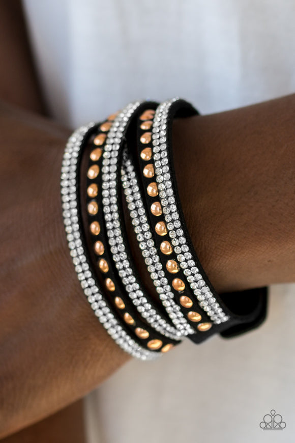 I BOLD You So! - Black - Wrap Bracelet