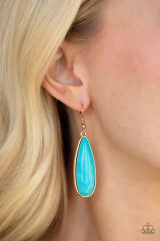 Santa Fe Skies - Turquoise - Earrings