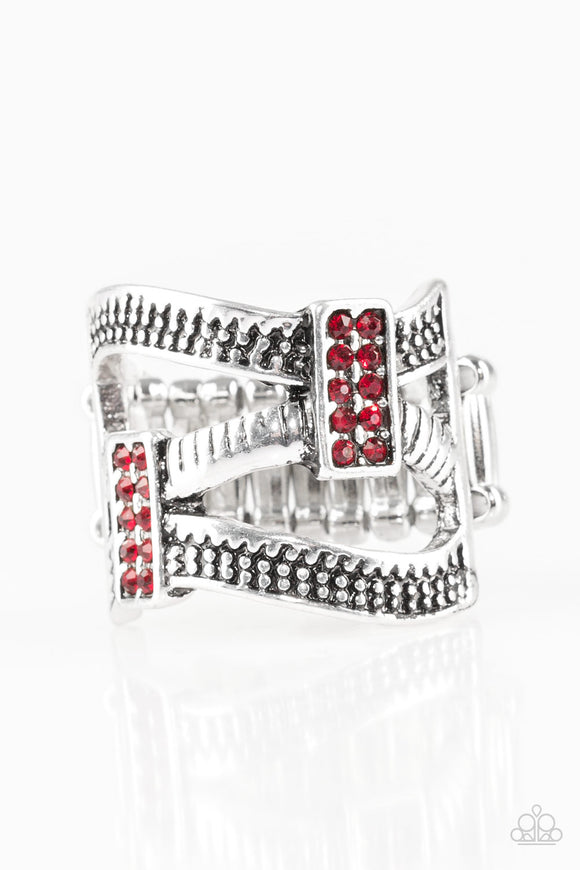 Urban Upscale - Red - Stretch Ring