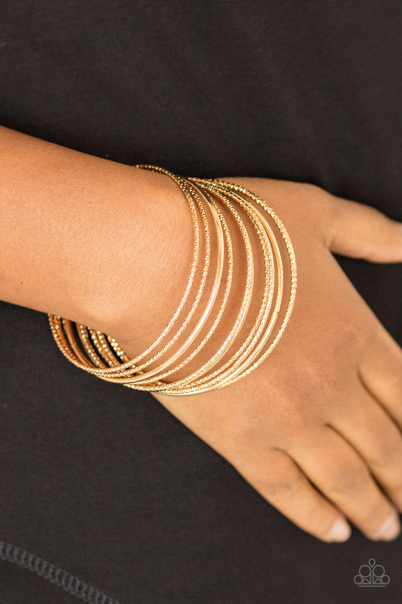 Bangle Babe - Gold Bangles