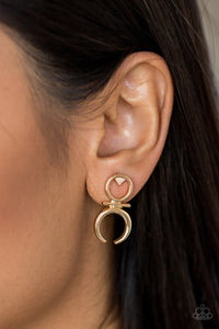 Giza Goddess - Gold - Earrings