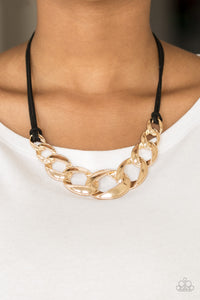 Naturally Nautical - Gold - Short Necklace